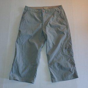 Royal Robbins Cropped Hiking Pants Women 4 Gray